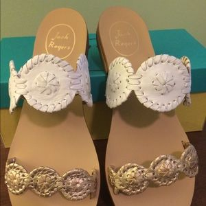 Jack Rogers Lauren size 9.5 New with Box.